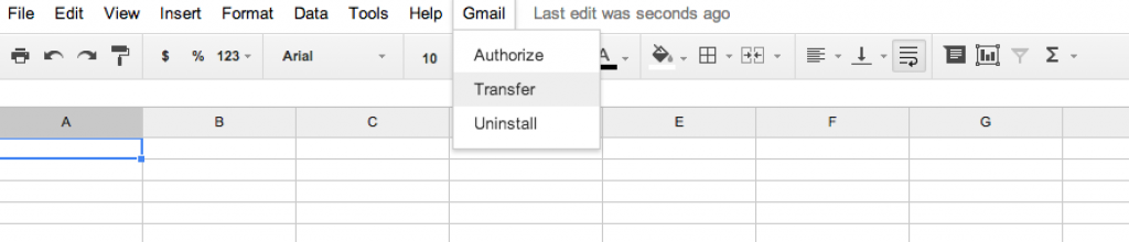 Gmail-Transfer